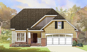 2 story Cottage Style home with 2,075 sq. ft.