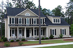 Greene residence in the Arboretum, Southern Pines, NC